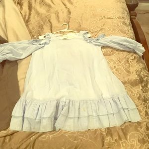NWT baby blue dress size Med